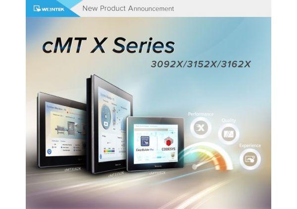 Serie cMT X mejorada completamente y nueva - cMT3092X / cMT3152X / cMT3162X